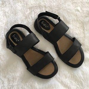 B.O.C. By Born Concept Velcro Strap Sandal